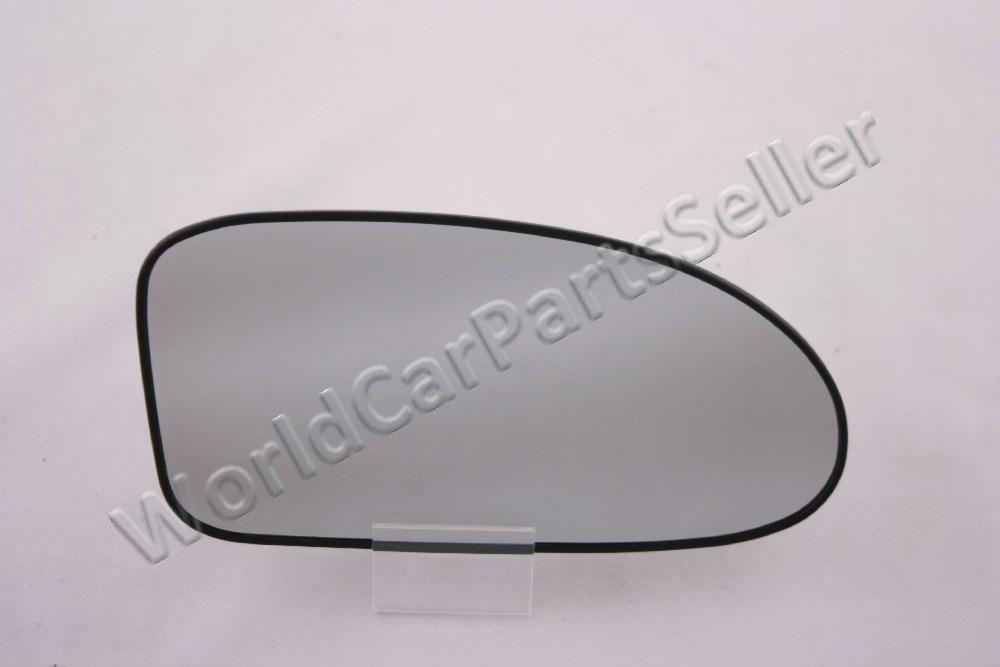 Chrome Convex Passenger RH Side Mirror Glass For 2008-2011 Ford FOCUS