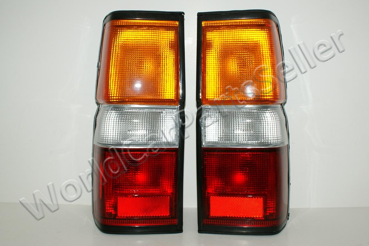 Details About 87 95 Fits Nissan Pathfinder Terrano Tail Lights Lamps Pair 88 89 90 91 92 93 94