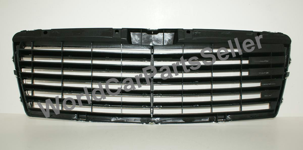 96 99 mercedes e class w210 grille avantgarde chrome for 99 mercedes benz e320