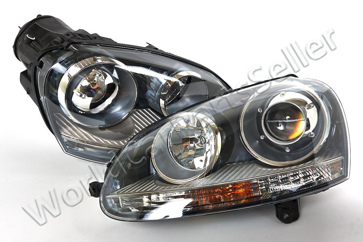 vw gti rabbit jetta 2006 2009 xenon headlights front lamps. Black Bedroom Furniture Sets. Home Design Ideas